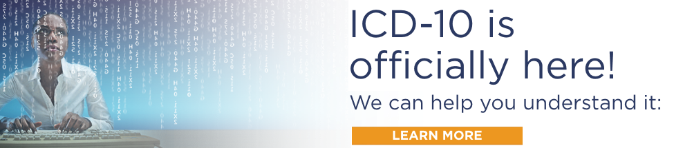 ICD-10 has arrived