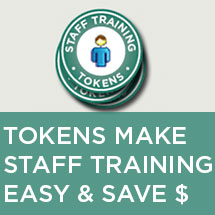 staff training tokens