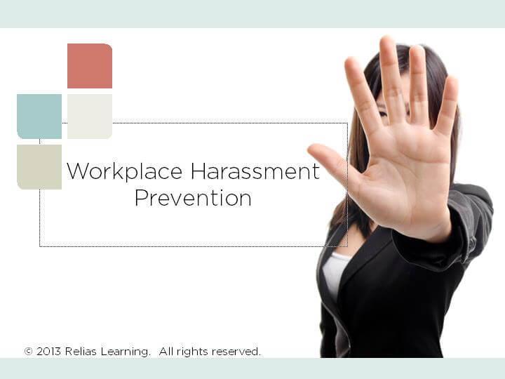 Workplace Harassment Prevention