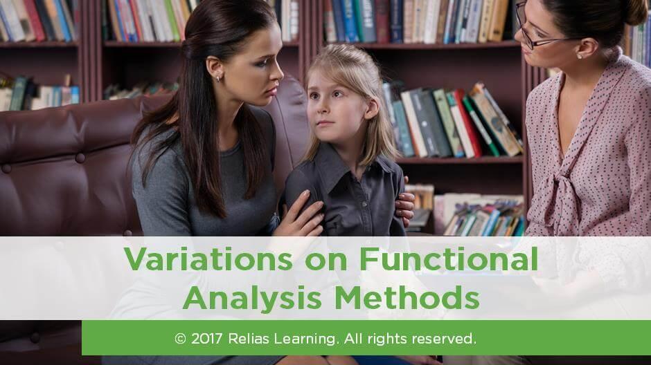 Variations on Functional Analysis Methods
