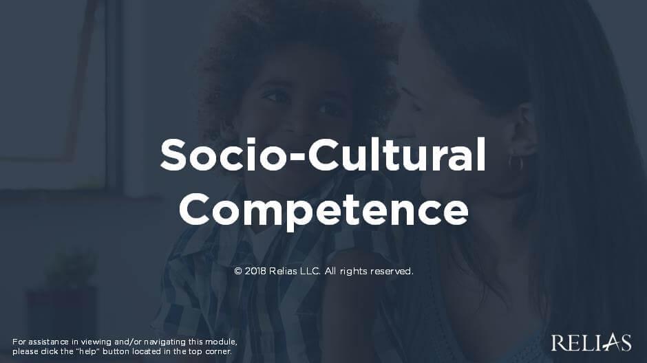 Socio-Cultural Competence