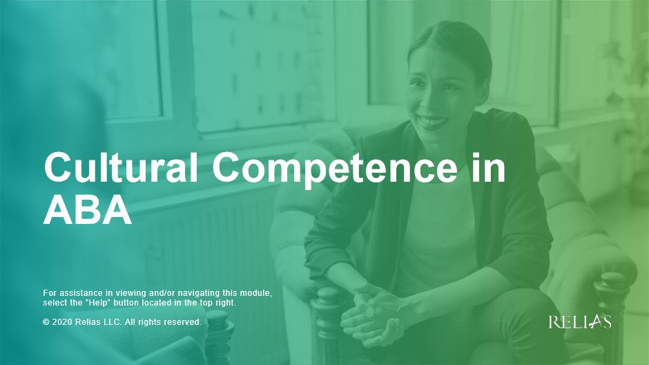Cultural Competence In ABA