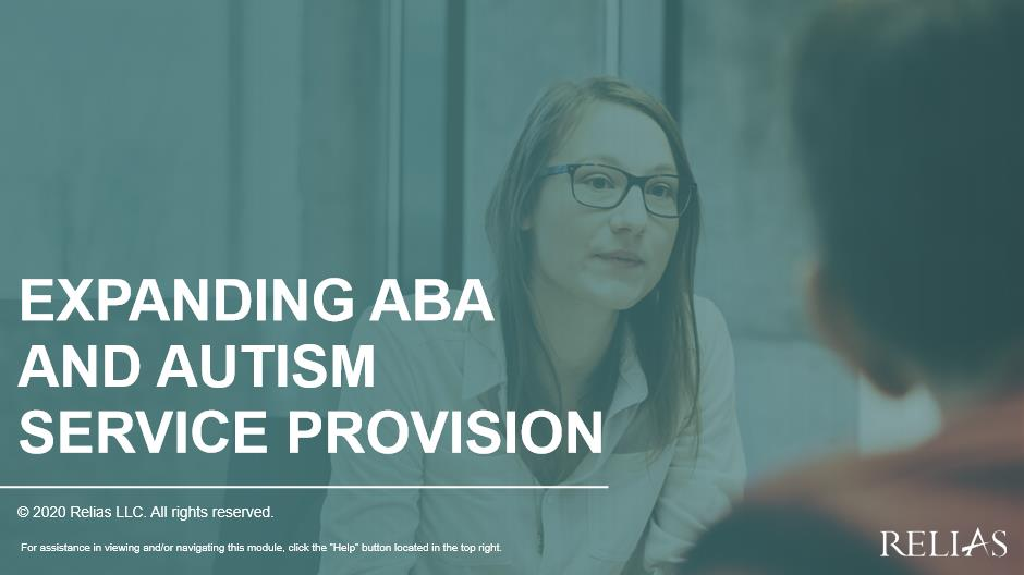 Expanding ABA and Autism Service Provision