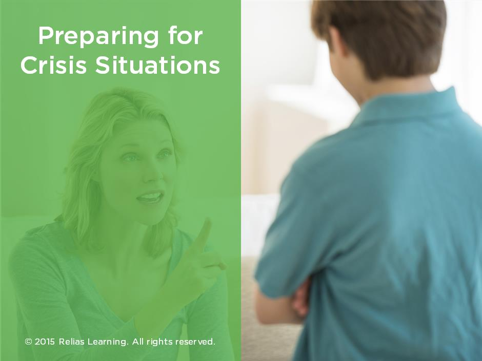 Preparing for Crisis Situations