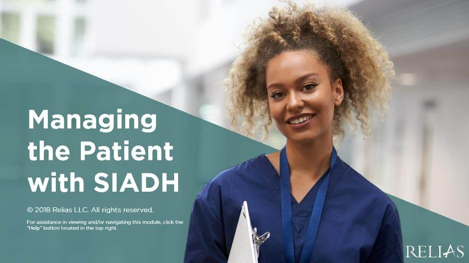 Managing the Patient with SIADH