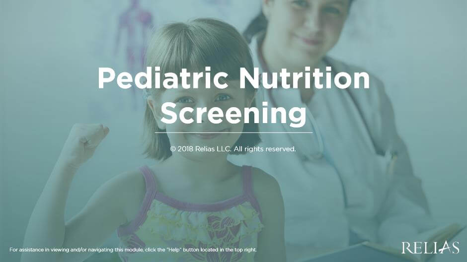 Pediatric Nutritional Screening