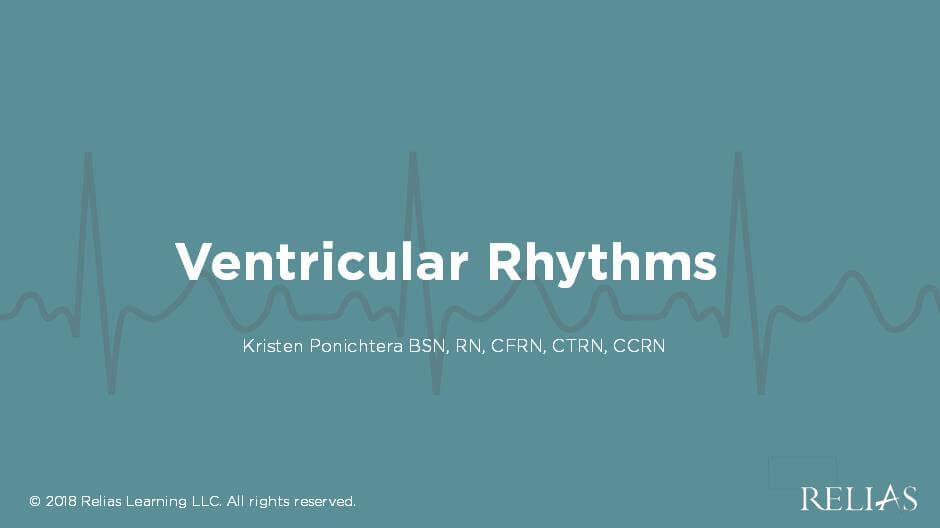Ventricular Rhythms