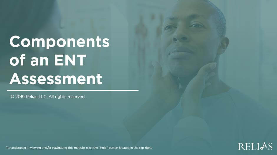 Components of an ENT Assessment