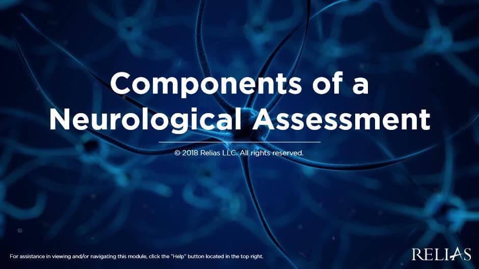 Components of a Neurological Assessment