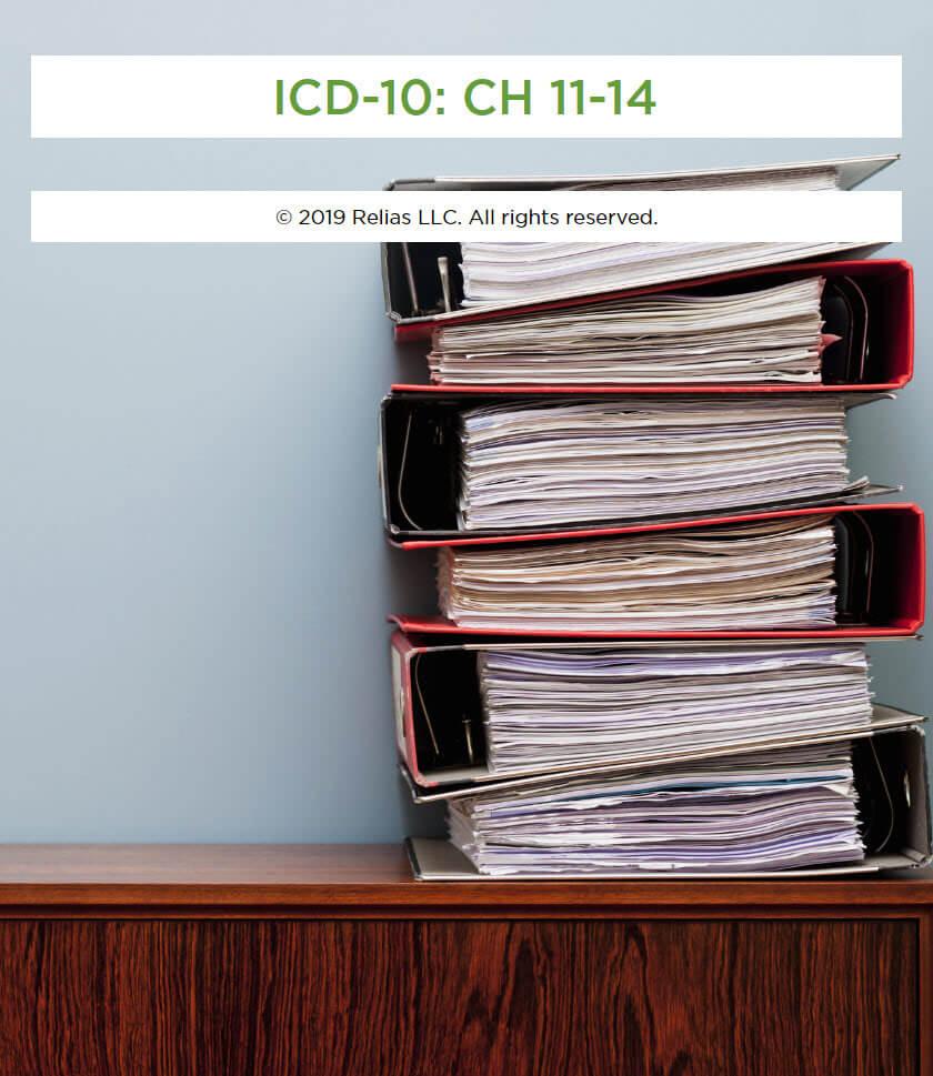 ICD-10: CH 11-14
