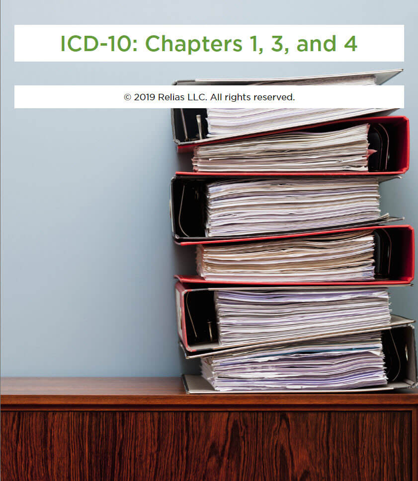 ICD-10: CH 1, CH 3, and CH 4