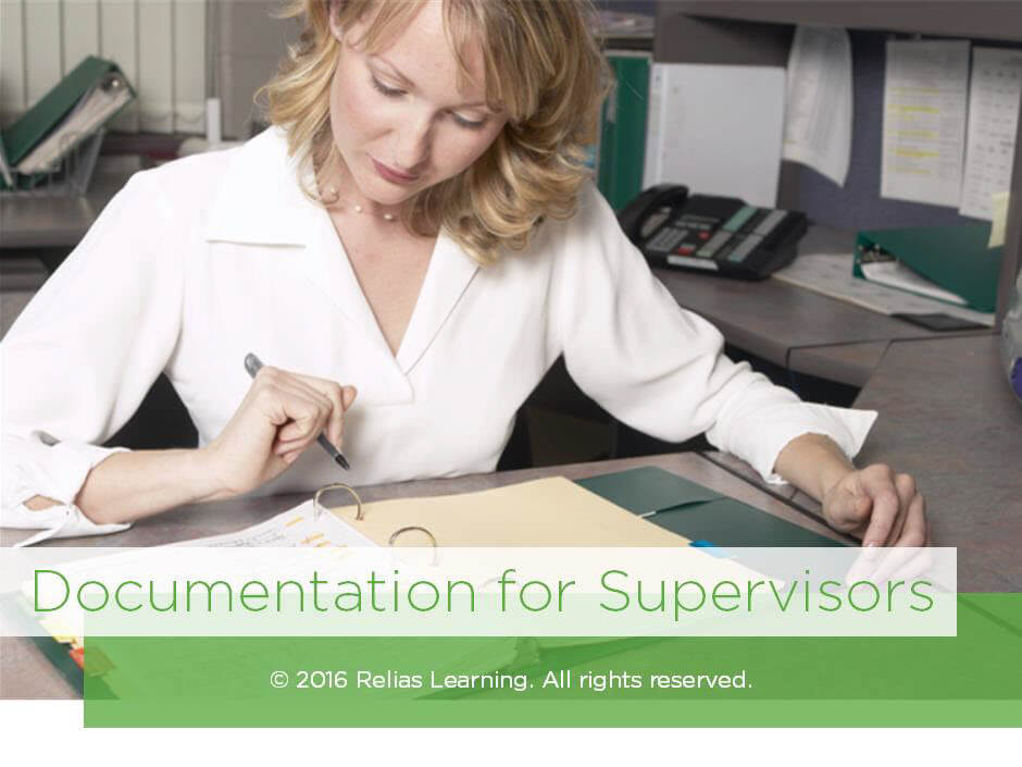 Documentation for Supervisors