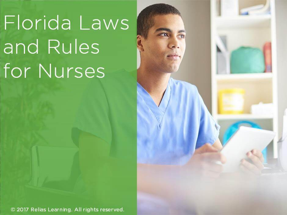Florida Laws and Rules for Nurses