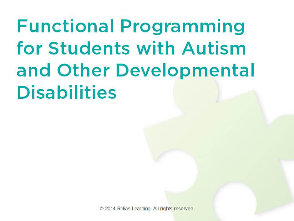 Functional Programming for Students with Autism and Other Developmental Disabilities
