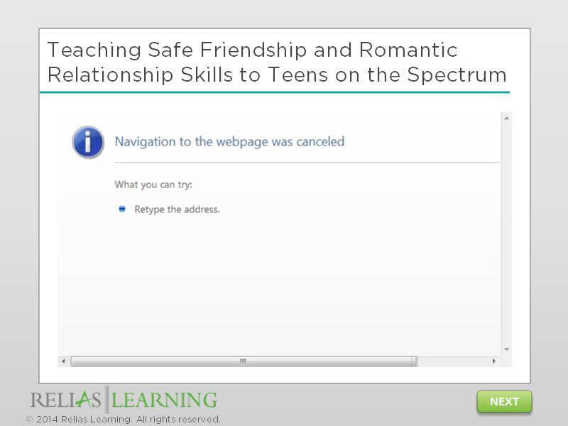 Teaching Safe Friendship and Romantic Relationship Skills to Teens on the Spectrum