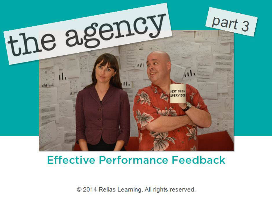 The Agency - Part 3: Effective Performance Feedback