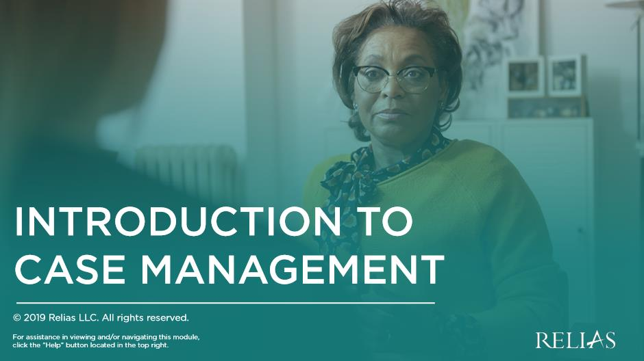 Introduction to Case Management
