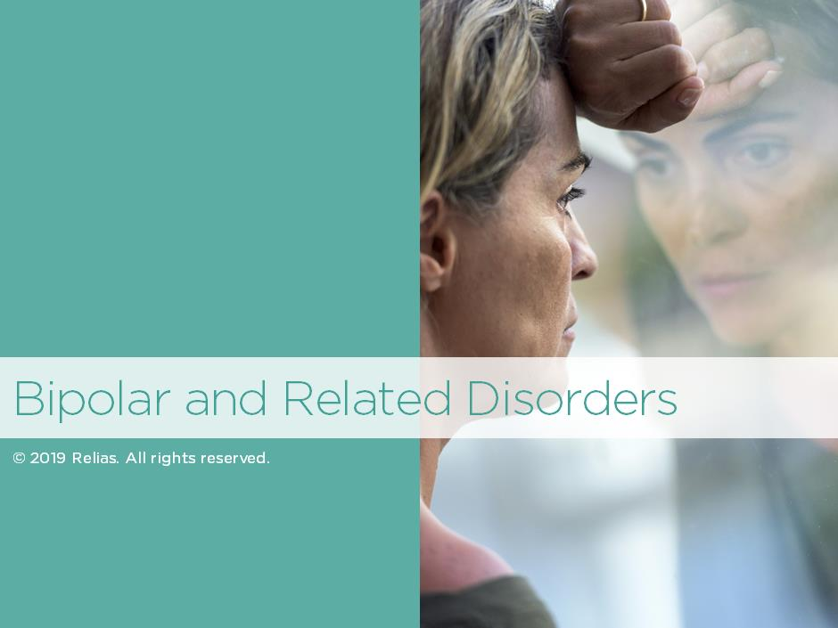Overview of Bipolar and Related Disorders