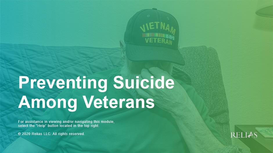 Preventing Suicide Among Veterans