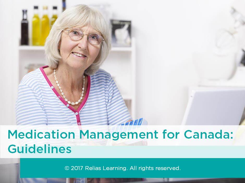Medication Management for Canada: Guidelines