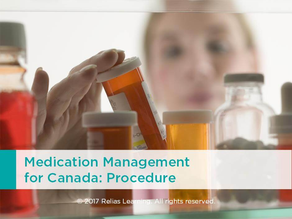 Medication Management for Canada: Procedure