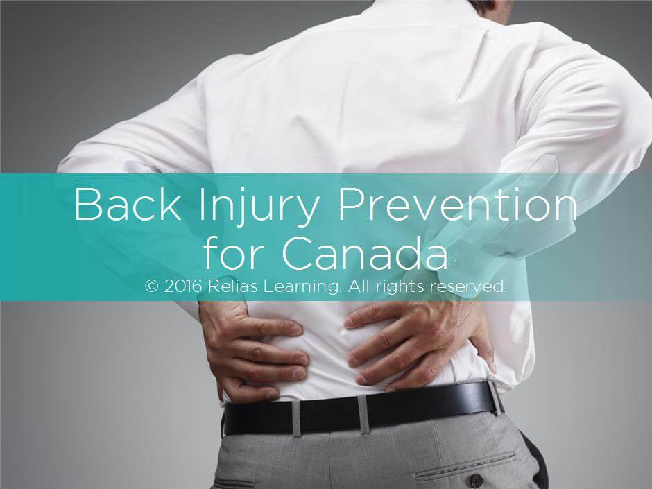 Back Injury Prevention for Canada