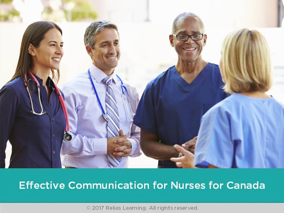 Effective Communication for Nurses for Canada