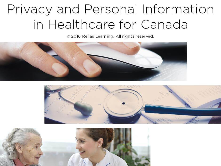 Privacy and Personal Information in Healthcare for Canada