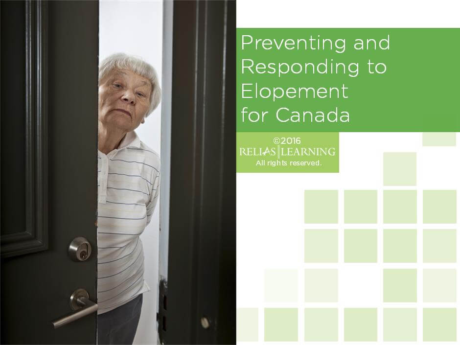 Preventing and Responding to Elopement for Canada