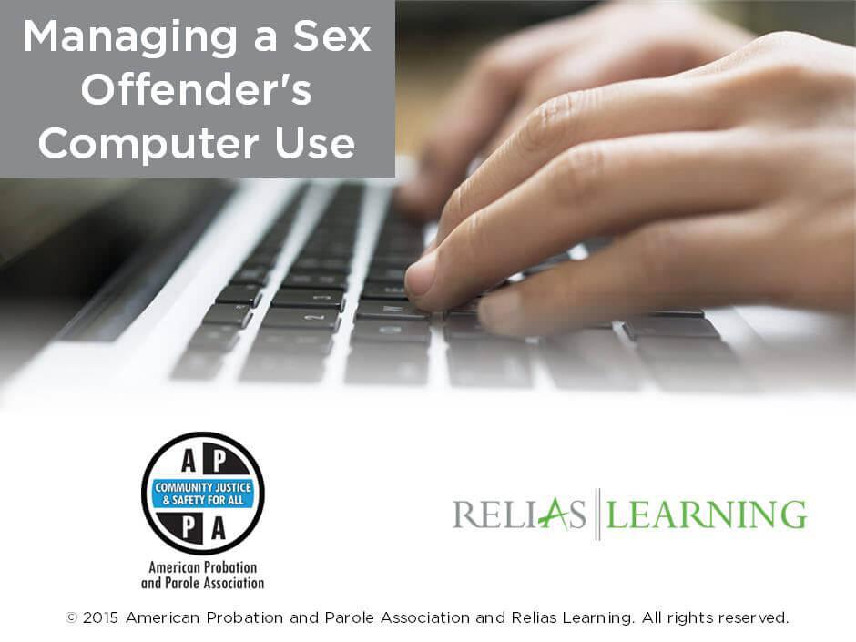 Managing a Sex Offender's Computer Use
