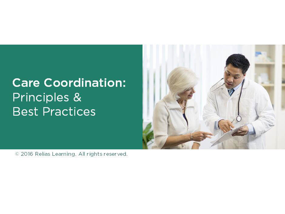 Care Coordination: Principles and Best Practices
