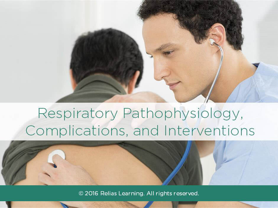 Respiratory Pathophysiology, Complications and Interventions