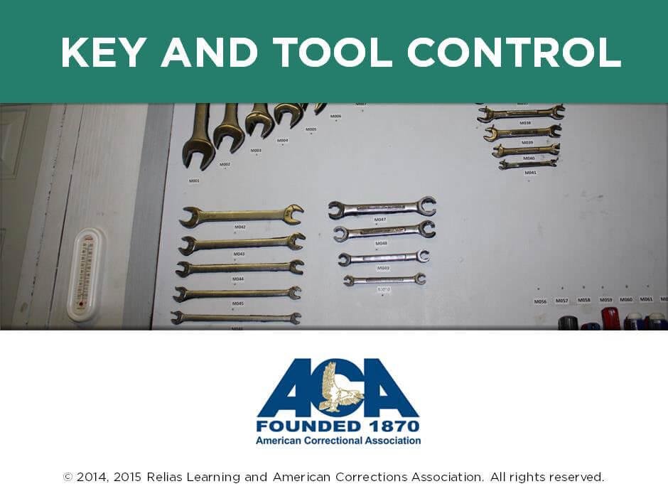 Key and Tool Control in Correctional Facilities