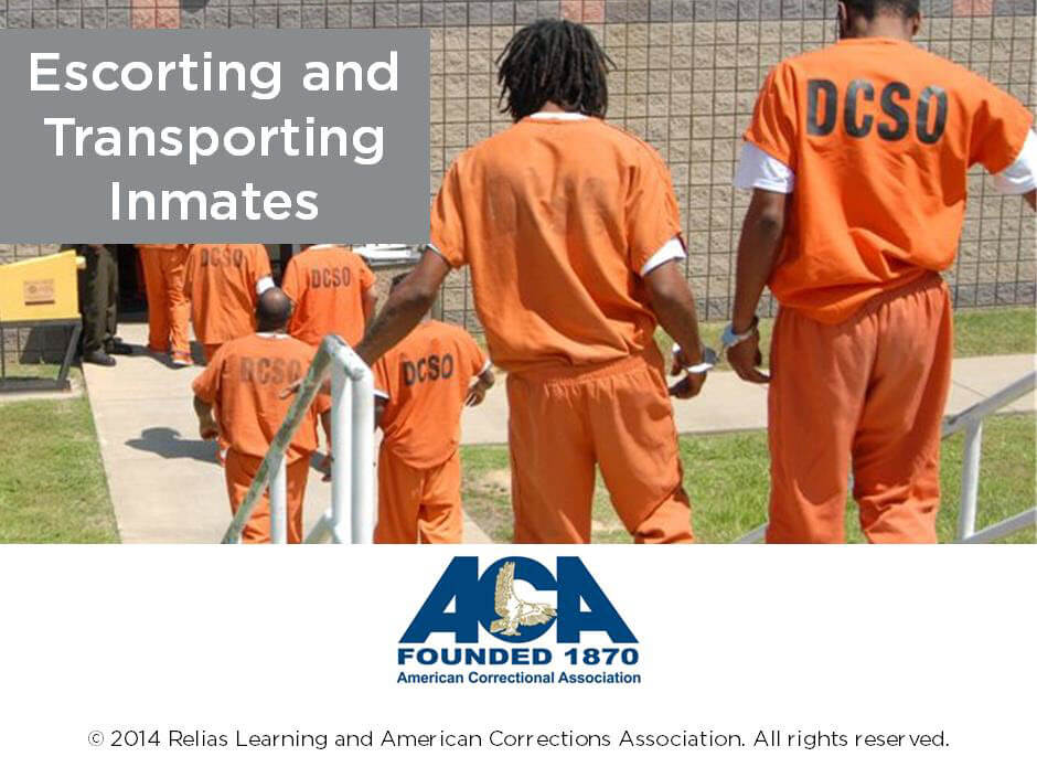 Escorting and Transporting Inmates