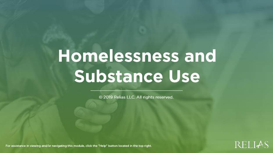 Homelessness and Substance Use