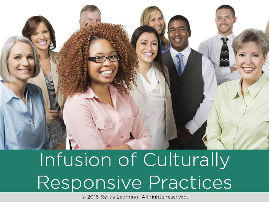 Infusion of Culturally Responsive Practices