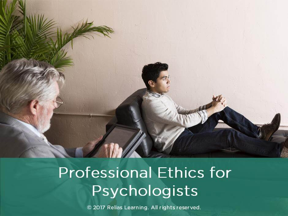 Professional Ethics for Psychologists