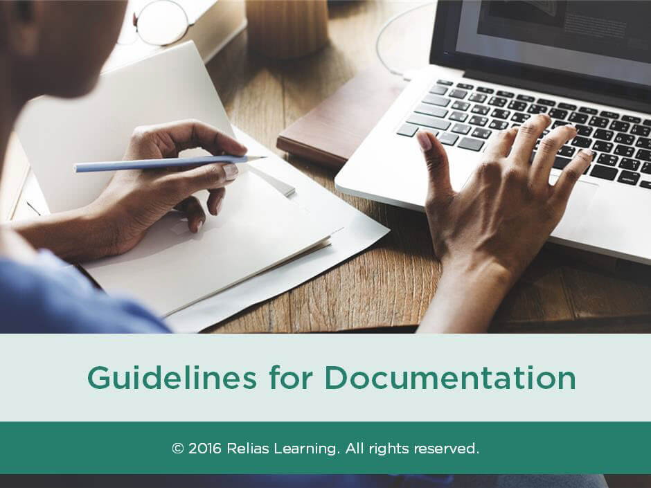 Guidelines for Documentation