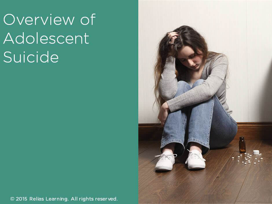 Overview of Adolescent Suicide