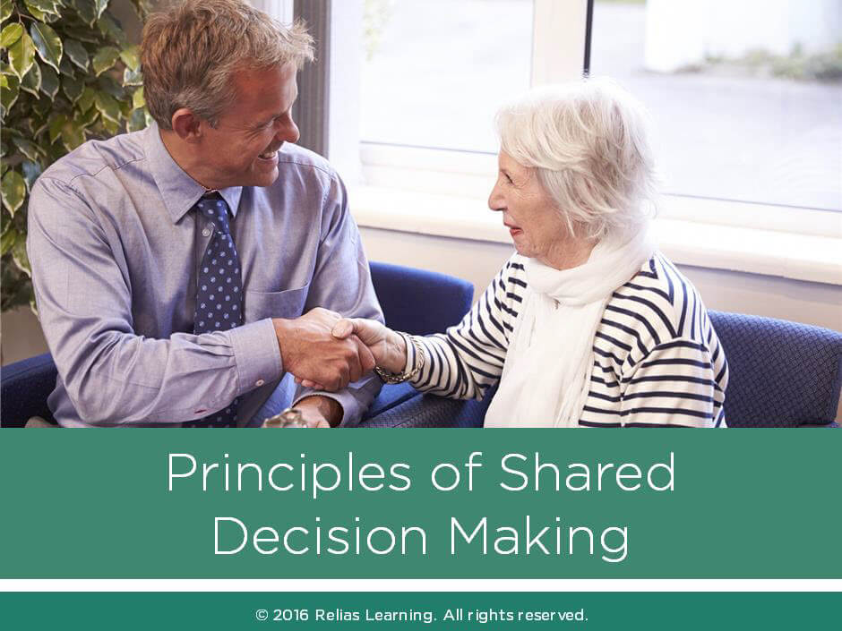 Principles of Shared Decision Making