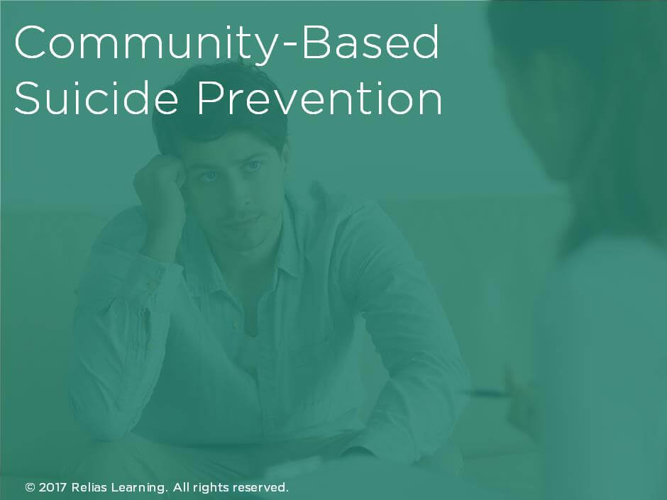 Community-Based Suicide Prevention