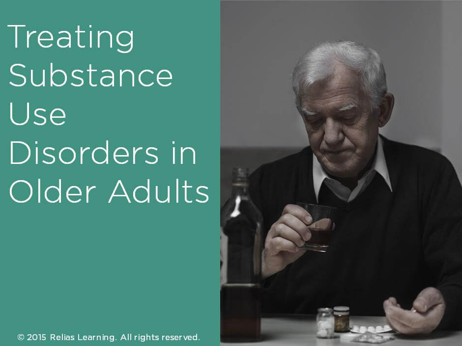 Treating Substance Use Disorders in Older Adults