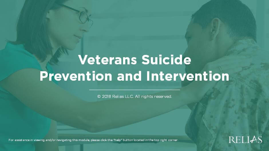 Veterans Suicide Prevention and Intervention