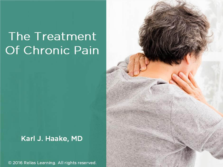 The Treatment of Chronic Pain