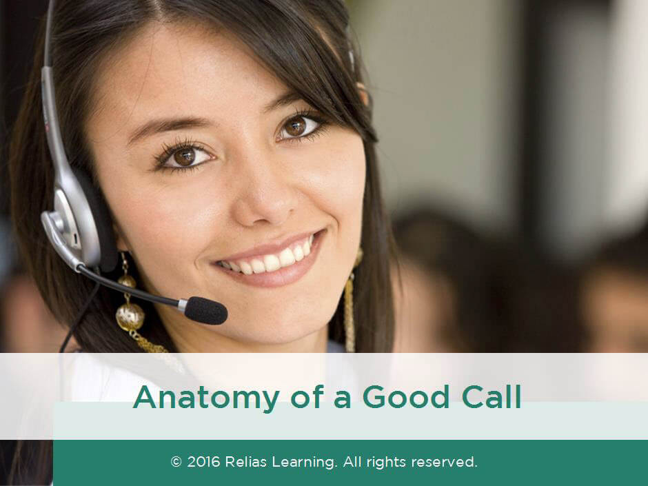 AIRS: Anatomy of a Good Call