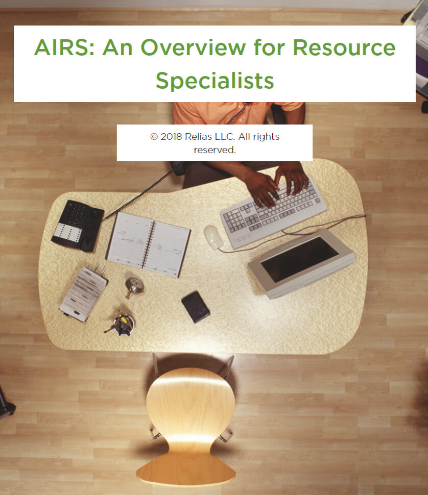 AIRS: An Overview for Resource Specialists