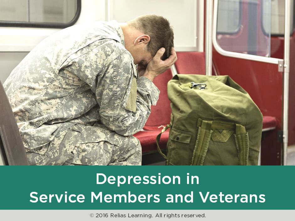 Depression in Service Members and Veterans
