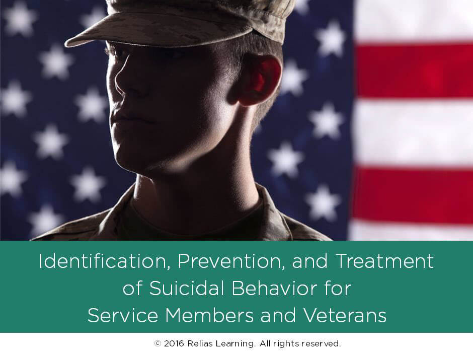 Identification, Prevention, and Treatment of Suicidal Behavior for Service Members and Veterans
