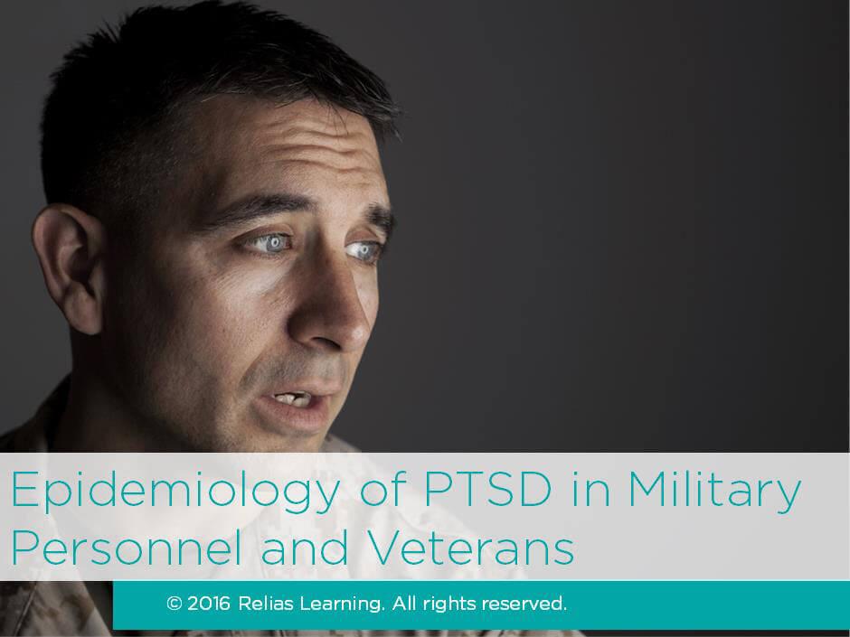 Epidemiology of PTSD in Military Personnel and Veterans
