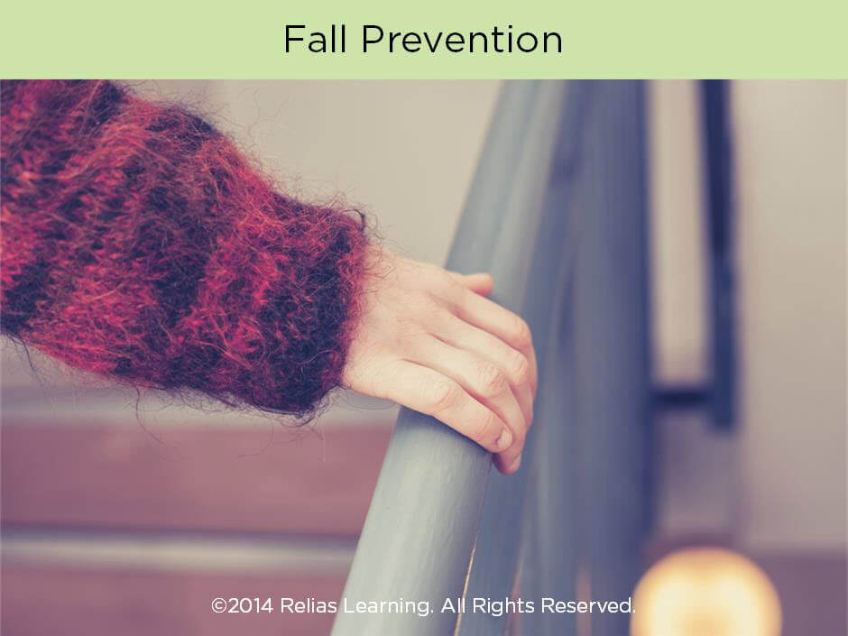 Fall Prevention Focused Learning